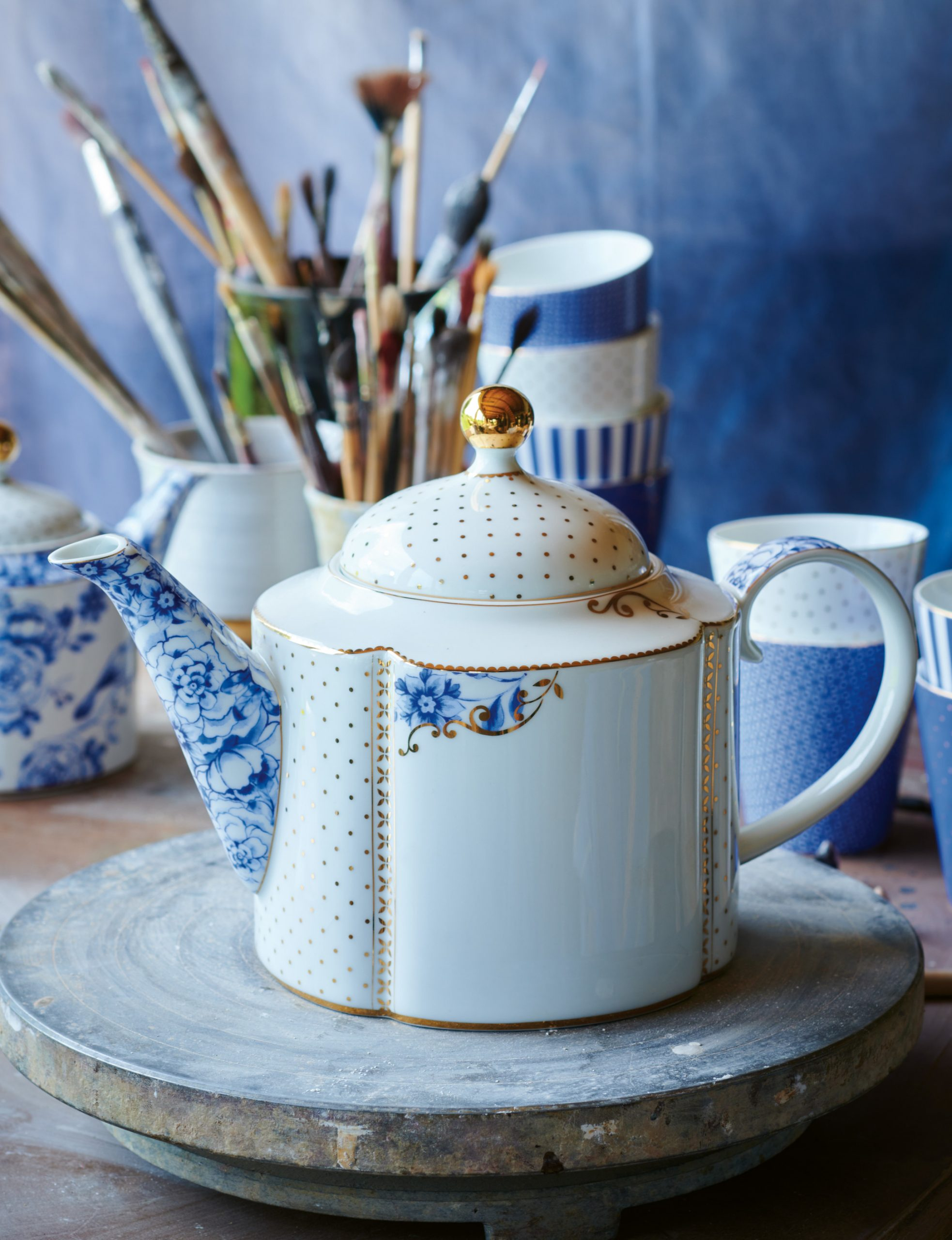 Pip Studio_FW2021 Royal White Teapot